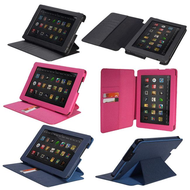 PU Leather Folding Folio Stand Case For Kindle Fire HD7 2nd Generation from MaximalPower