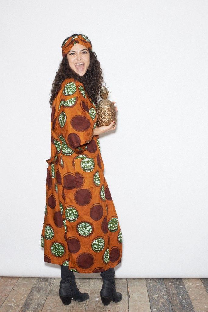Kimono plus a pineapple - love it!