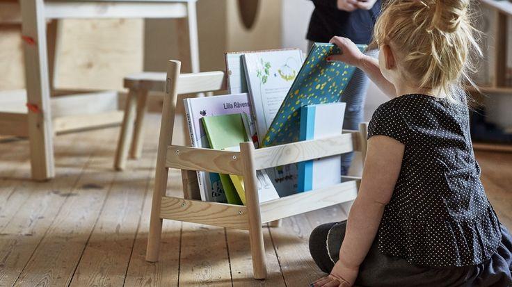 17 meilleures id es propos de rangement livre enfant sur pinterest stockage de livres pour. Black Bedroom Furniture Sets. Home Design Ideas