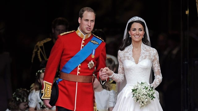 Prince William and Kate wed in 2011.