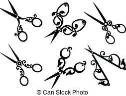 Set of retro scissors Set of retro scissors