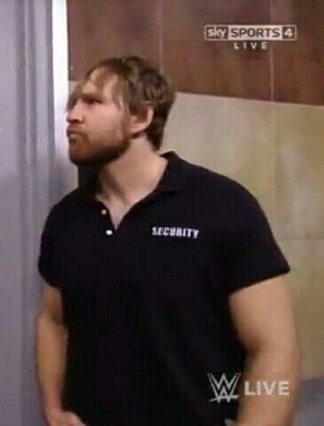 Dean Ambrose YES You Do Look good in A Collared shirt