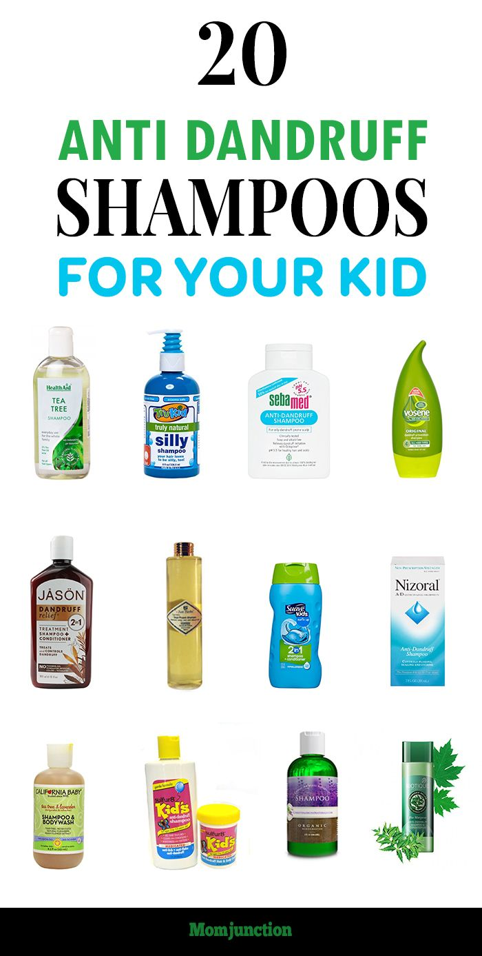 20 Best Anti Dandruff Shampoos For Your Kid: list of 20 the best anti-dandruff shampoo for kids. Check them out below.