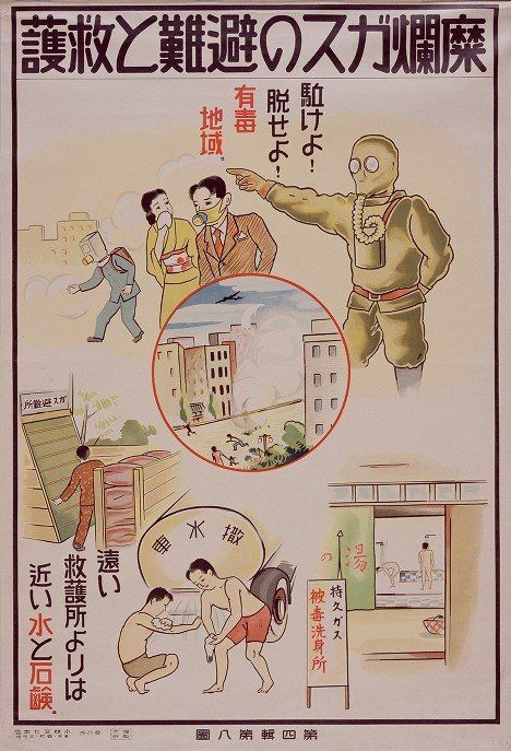 Japanese Gas Attack Posters - Retronaut