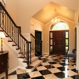 16 Best Foyer Floors Travertine Or Black White Marble