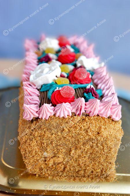 "Кулинарная книга Алии: 655. Торт ""Сказка"""