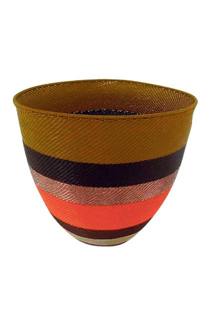 WANT... this handwoven bowl made from telephone wires by formerly unemployed home-based Zulu artisans, from new online store Limpopo-store.com