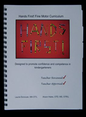 Hands First! This is a wonderful fine motor and gross motor curriculum (developed by OT's) that allows you, the teacher to teach and help develop these vital and necessary fine motor skills.