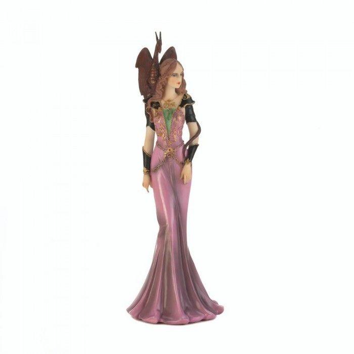 Purple Dragon Guardian Figurine With Images Dragon Figurines