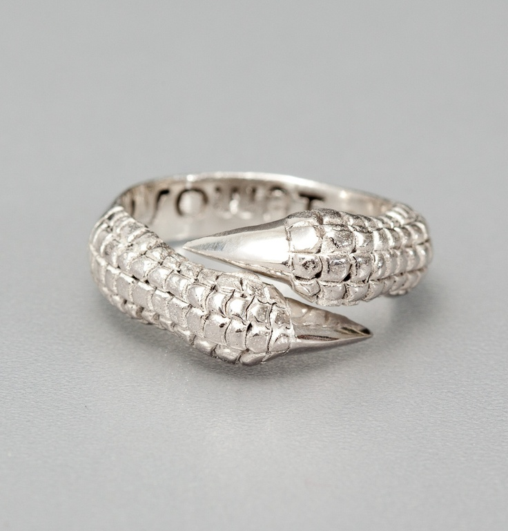 Bague Eagle Claw Silver Sowat en vente chez L'Exception