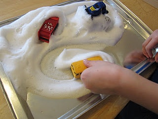 """Snow"" - great activity for kids!"