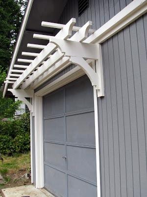 1000 Images About Garage Trellis On Pinterest Side Door