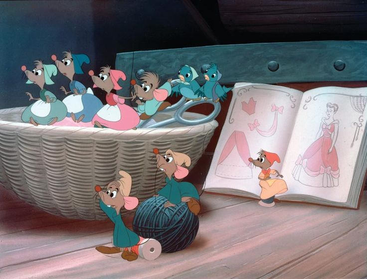 Cinderella's mice 16 Signs You're Sidekick Material