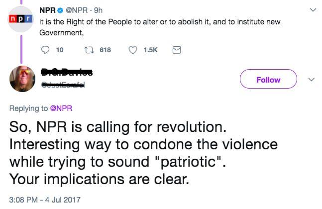 「偏向メディアだ」トランプ支持者が怒り、クソと呼んだツイートが「独立宣言」だった話