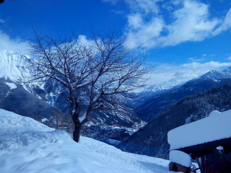Neve arrivati al rifugio