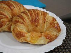 Receita de Croissant folheado - Tudo Gostoso