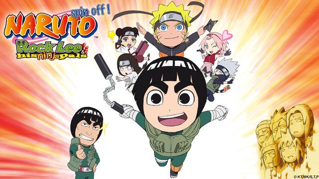 Naruto SD: Rock Lee no Seishun Full-Power Ninden, a spin-off of Naruto,  premieres on TV Tokyo in April. Based on Kenji Taira's manga and directed by Naruto Shippuden film director Masahiko Murata, the series follows the bushy-browed Rock Lee and the comedic happenings that surround him in the ninja village.