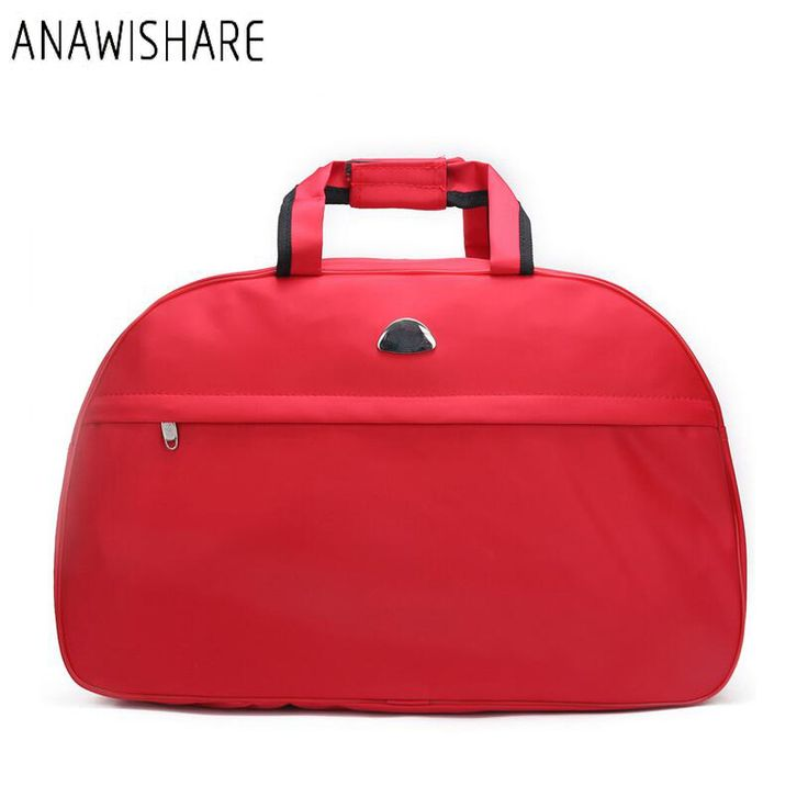 ANAWISHARE Women Travel Bags Men Luggage Travel Duffle Bags Nylon Waterproof Daily Travel Handbag Bag Shoulder Bag Bolso Deporte