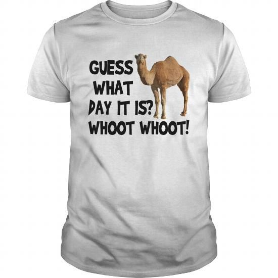 Cool  Hump Day Camel Whoot Whoot Shirts & Tees