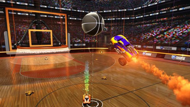 awesome Rocket League Slams It Down Future Thirty day period In Free Dunk Household Update