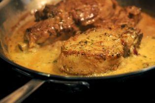 Χοιρινές μπριζόλες με σάλτσα μουστάρδας - gourmed.gr