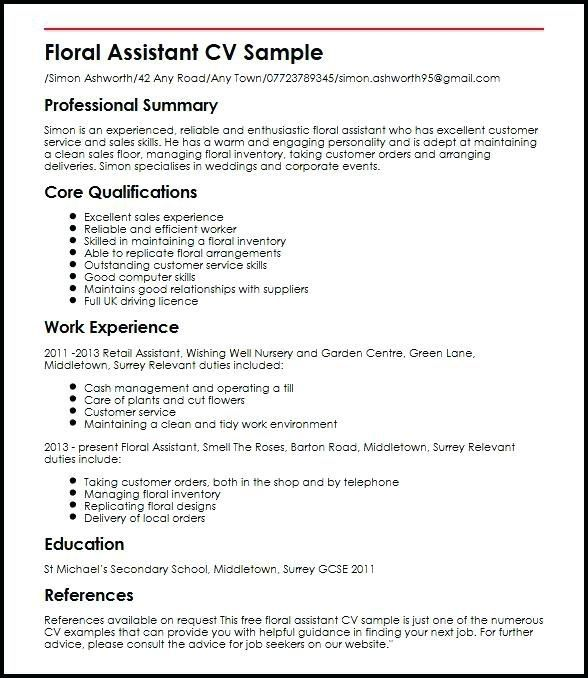 Pin On Retail Resume Examples Template Beautiful