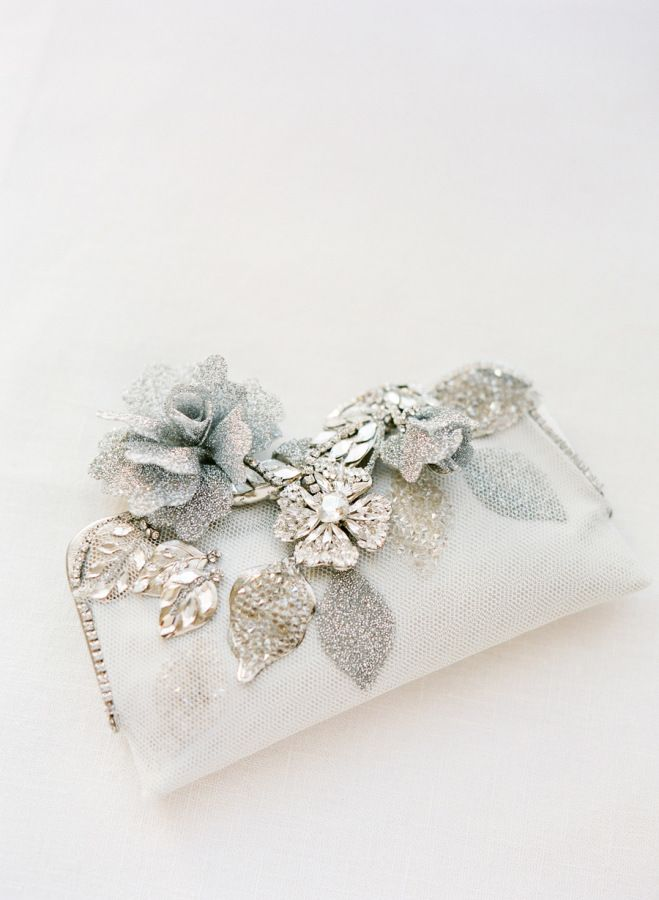 Glam bridal clutch: http://www.stylemepretty.com/2014/06/05/destination-wedding-inspiration-on-the-amalfi-coast/ | Photography: KT Merry - http://www.ktmerry.com/