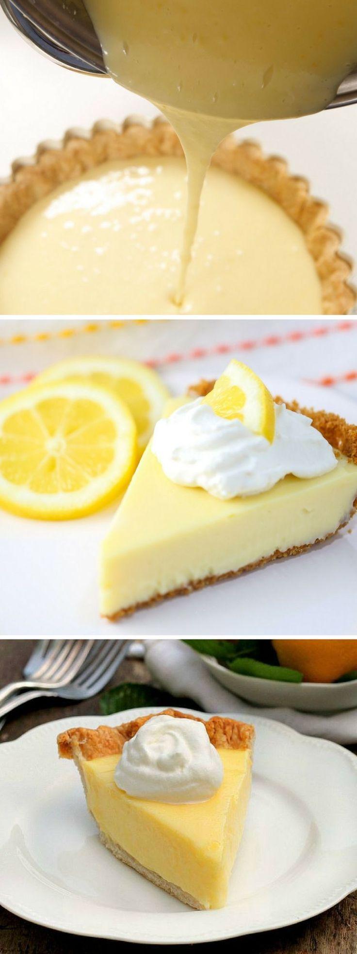 Prepara un delicioso pay de limón con esta fácil receta. | recetas fáciles postres paso a paso | pay de limon con galletas marias receta | #recetasfáciles #postres