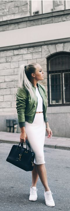 Army Green / Fashion By Angelica Blick
