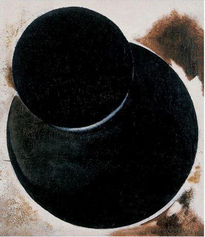 Alexander Rodchenko, Non-Objective composition, 1918
