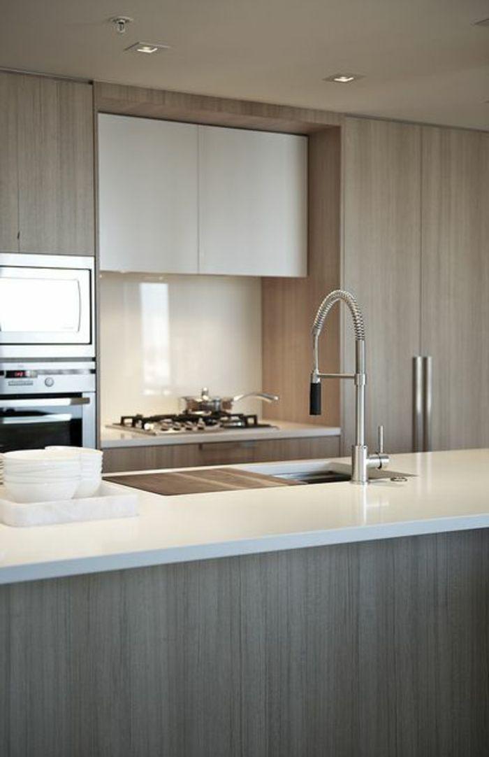comment choisir un ilot central ikea pour la cuisine de couleur taupe - Cuisine Blanc Gris Taupe