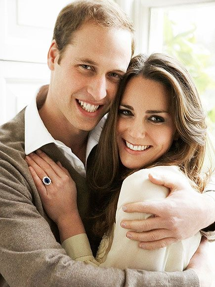 Prince William and Kate Middleton Engagement Portrait by Mario Testino (November 2011)