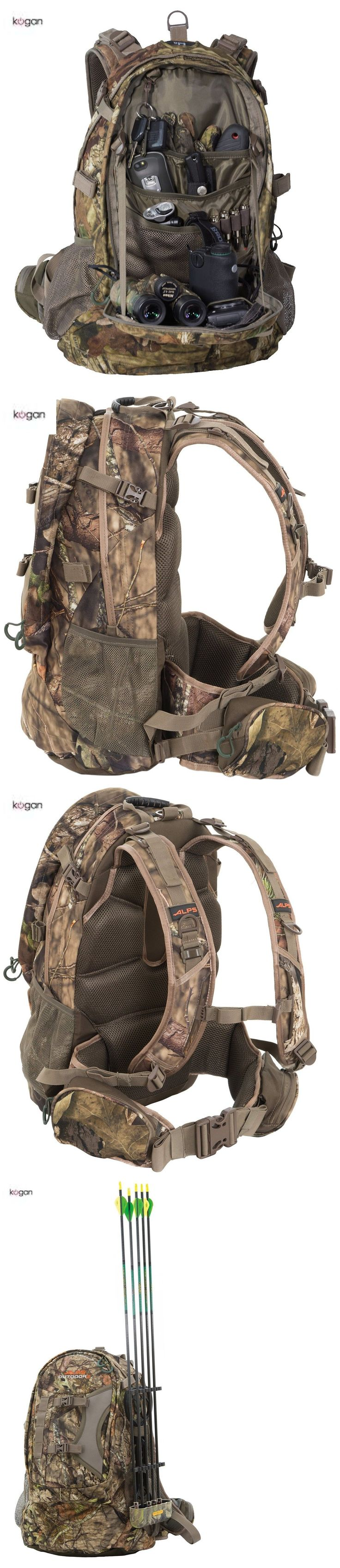 Hunting Bags and Packs 52503: Alps Hunting Camping Bow Archery Rifle Back Pack Camo Tactical Hiking Gear Bag -> BUY IT NOW ONLY: $88.72 on eBay! #huntingbows