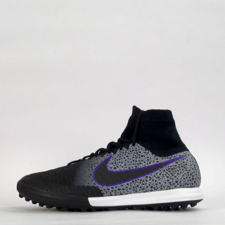 Nike Magistax Proximo TF Mens Football Astro Turf Boots Shoes Black/Wolf Grey #NikeFootball #FootballAstroTrufBoots