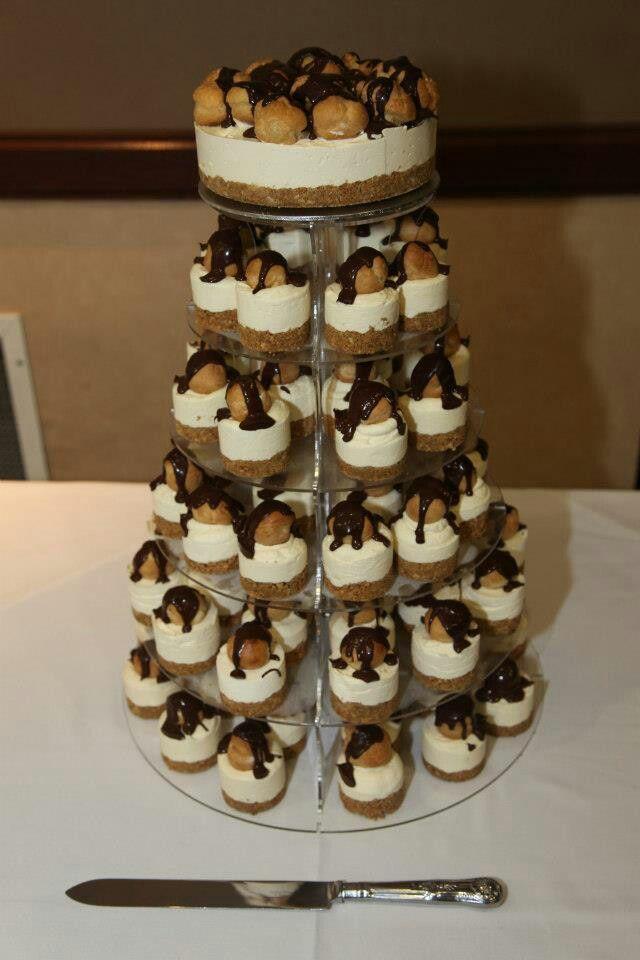 Profiterole Cheesecake Wedding Cake Cheesecake Love