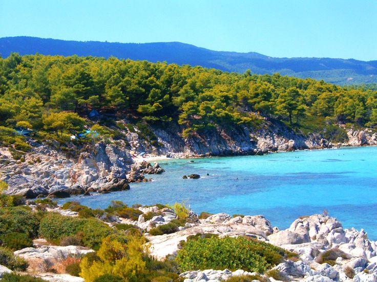Voda oko Sartija je predivna! #greece #sarti #punimplucima #sithonia http://go2travelling.net/putovanja/go2-leto-2014/sarti-leto-2014