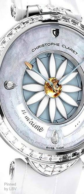 Christophe Claret's Amazing First Ever Ladies Watch Complication | LBV ♥✤