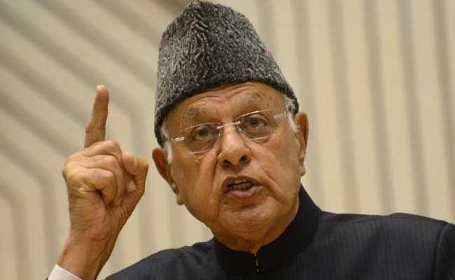 Pak-Occupied Kashmir Belongs To Pakistan Says Farooq Abdullah