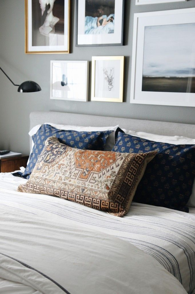 Really Great Pillowcases & Shams (Hint: You can Skip the Duvet!) | Chris Loves Julia