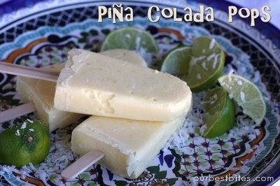 Piña Colada Pops   Treats   Pinterest