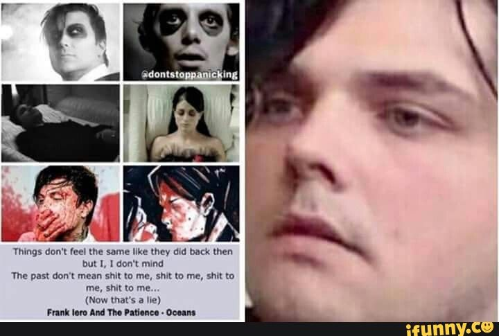 this fucking hurt<<<< i'm crying literal tears someone help frank<< i think frank represents the entire MCR fandom