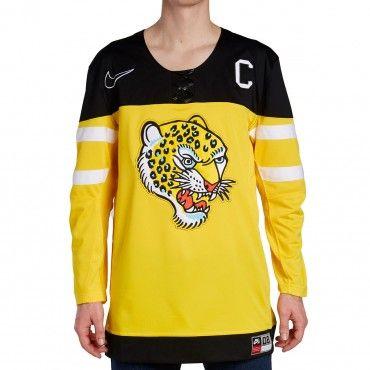 Nike SB Brian Anderson Hockey Jersey - Yellow/Black/White