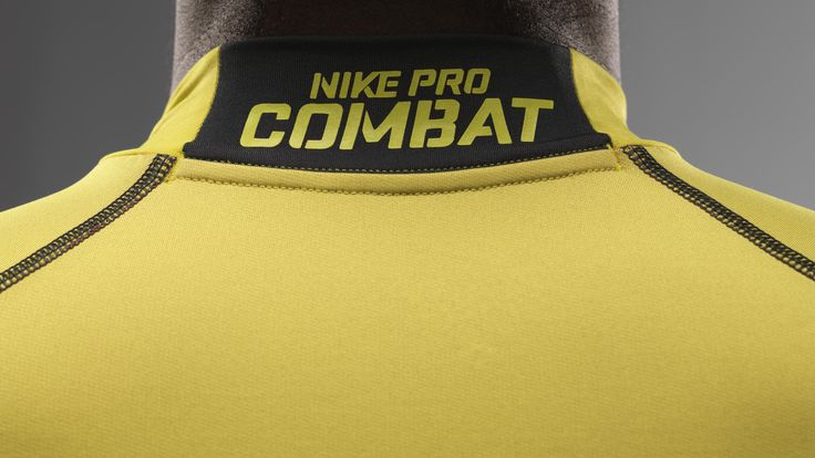 Nike Pro Combat Hyperwarm apparel keeps the body regulated for harsh weather with breathability and water resistance.