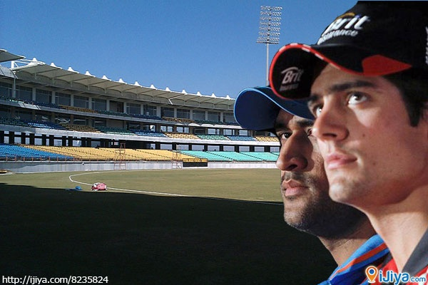 Cheer for INDIA @ Rajkot     Saurashtra Cricket Association Stadium, Rajkot, India. @ http://ijiya.com/8235824