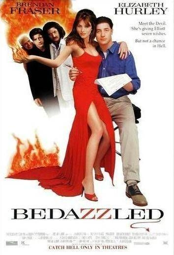 BEDAZZLED (2000) - Brendan Fraser - Elizabeth Hurley - 20th Century-Fox - Movie Poster