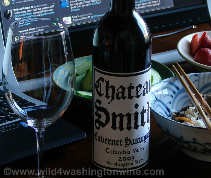 charles smith wines | Wild 4 Washington Wine: Notes: 2009 Charles Smith Wines Chateau Smith ...