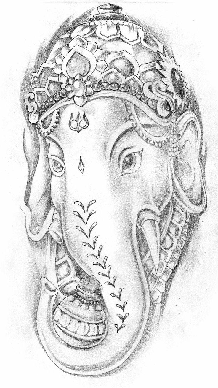 Ganesh Head