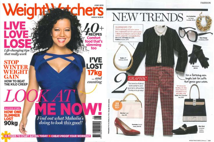 Get on board the graphic trend in our Geo Pant, featured in Weight Watchers Magazine – June 2013