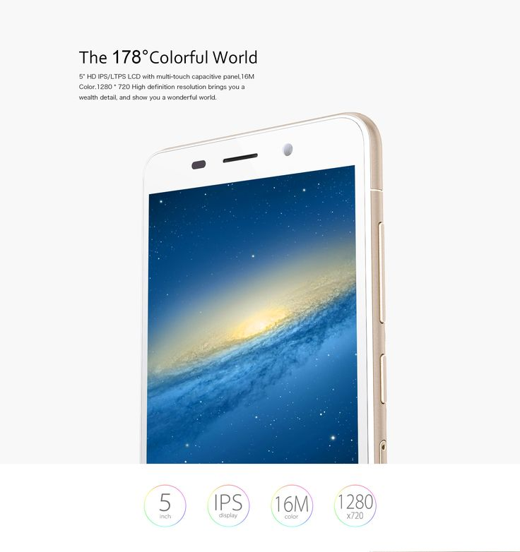 """CUBOT X9 Smartphones Octa Core MTK6592 5.0 Inch HD IPS Screen Dual SIM 5"""" HD IPS Screen, OGS technology 1280 x 720 Resolution ensures that you have a panoramic and clear view about the whole screen no matter with texts,pictures,games or videos."""