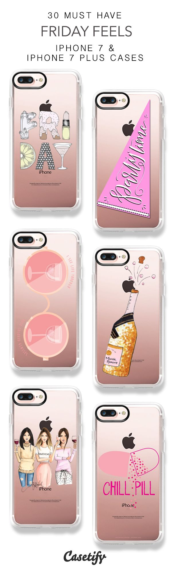 30 Must Have Friday Feels Protective iPhone 7 Cases and iPhone 7 Plus Cases. More Weekend Phone case here > https://www.casetify.com/collections/top_100_designs#/?vc=FmhF5jP96c